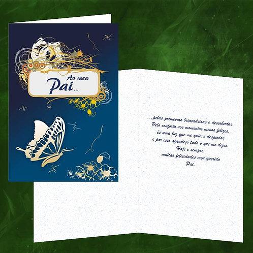 Cartão felicitações Pai | embª 6