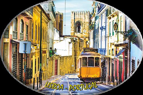 Íman 45x65mm | Lisboa 4 | embª 12