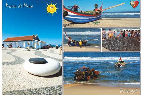 Postal Praia de Mira 8 - embª 50