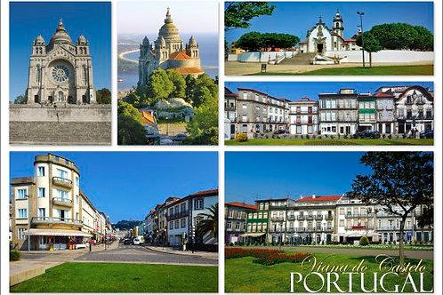 Postal Viana 3 - embª 50