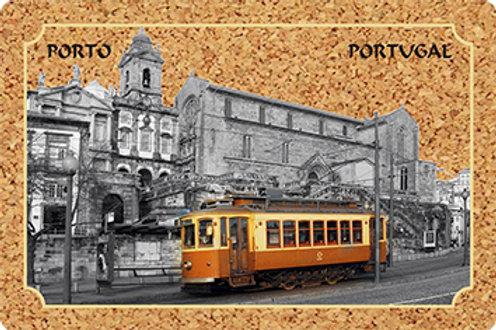 Postal cortiça - embª 18 - Porto 4