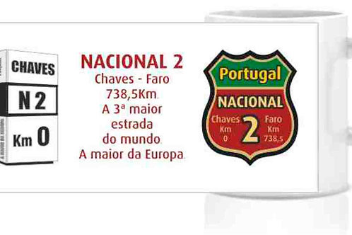 Caneca Nacional 2 - porcelana