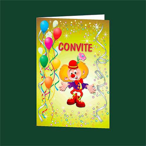 Convite Anivª 03 - Embª 25 com envelope