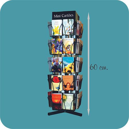 Expositor Mini Cartões - 40 x 10 motivos
