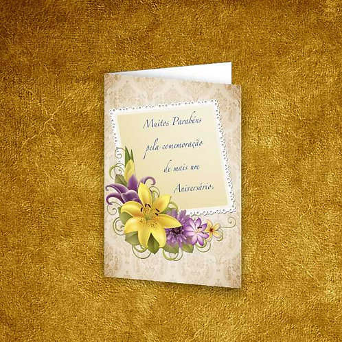 Mini Cartão com envelope - embª 12 - refª 11