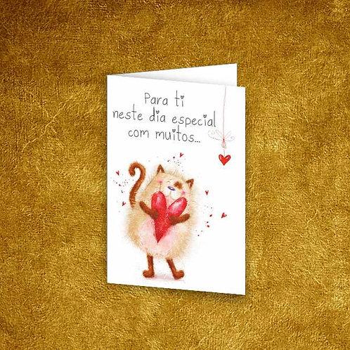 Mini Cartão com envelope - embª 12 - refª 14