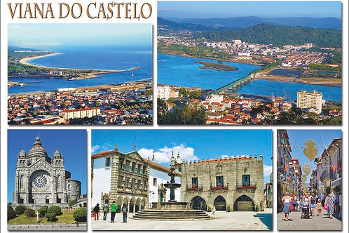 Postal Viana 2 - embª 50