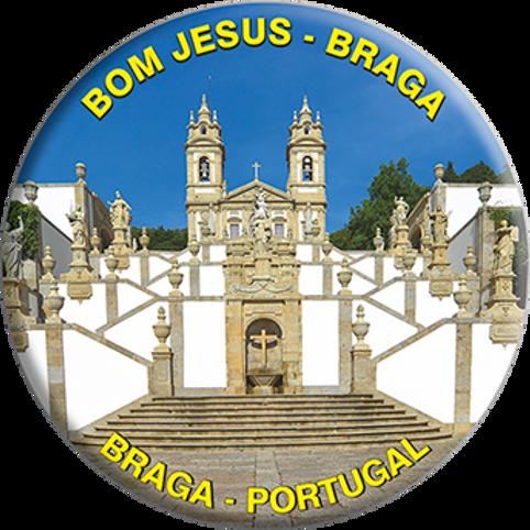 Íman 58mm   Braga 10   embª 12