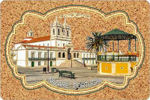 Postal cortiça Nazaré 8 - embª 18