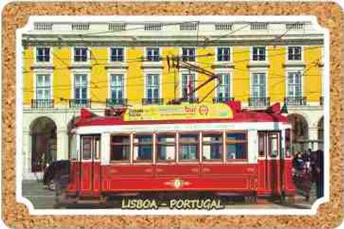 Postal cortiça Lisboa 1   embª 18
