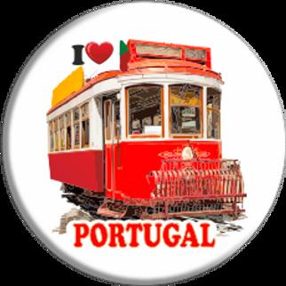 íman 58mm | Portugal 21 | embª 12