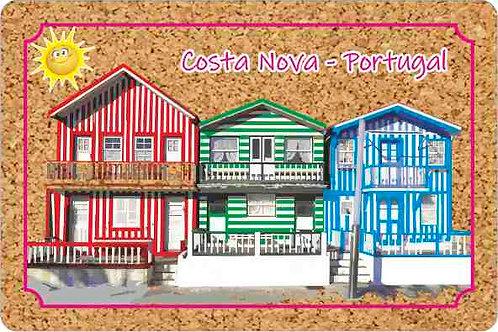 Postal cortiça C. Nova 1 | embª 18