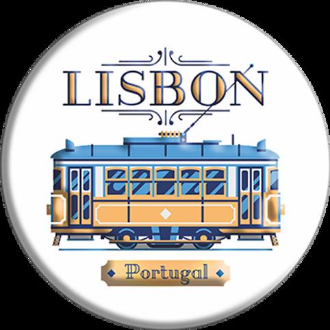 Íman 58mm | Lisboa 5 | embª 12