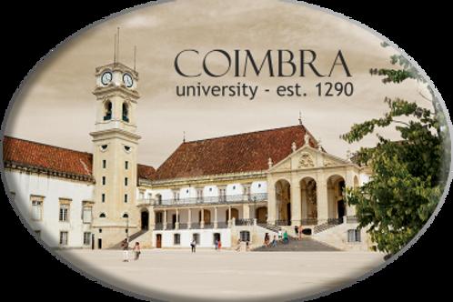Íman oval Coimbra 1 - embª 12