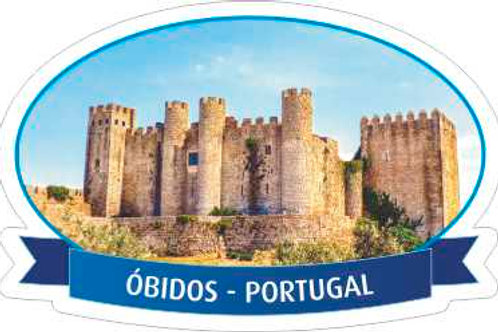Íman acrílico - embª 24 - Óbidos3
