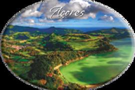 Íman oval 45x65   Açores 13   embª12