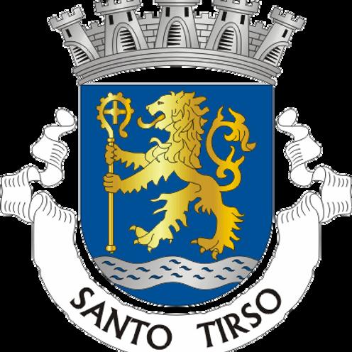 Autocolante Vinil - embª 24 - Santo Tirso