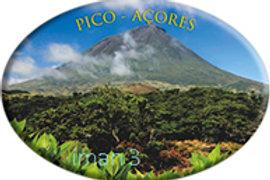 Íman oval 45x65   Açores 3   embª12