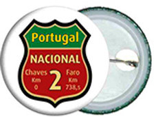 Crachá Nacional 2 - embª 50