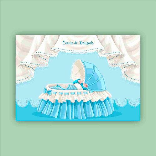 Convite de Batizado 13a