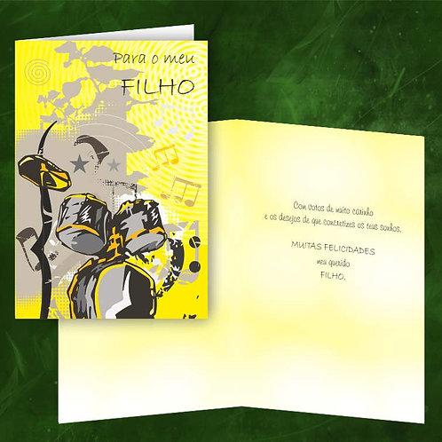 Cartão felicitações Filho | embª 6