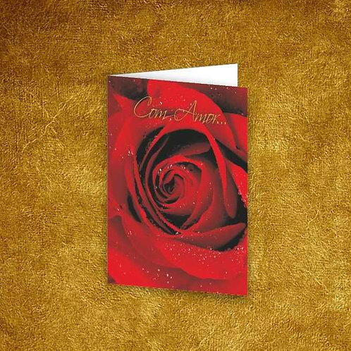 Mini Cartão com envelope - embª 12 - refª 19
