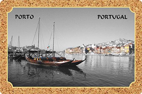 Postal cortiça - embª 18 - Porto 6