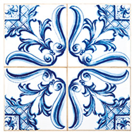 Postal 15x15cm - Azulejo 7 - embª 50