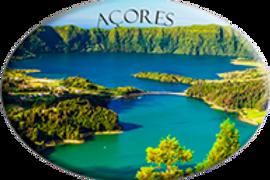 Íman oval 45x65 | Açores 4 | embª12