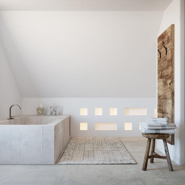 WOOD&WHITE BATHROOM