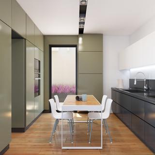 KITCHEN IN COLOR
