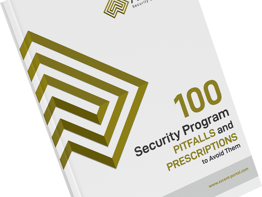 100 Security Program Pitfalls and Prescriptions to Avoid Them – Introduction