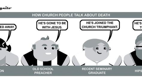 Death-denying or Death-defying?