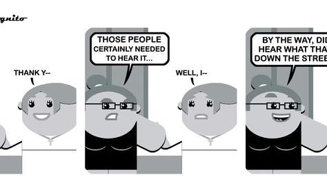 In One Ear...