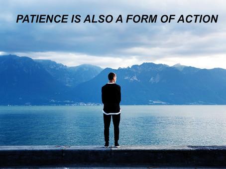 Multitasking patience