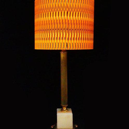 Orange Tribal Lampshade