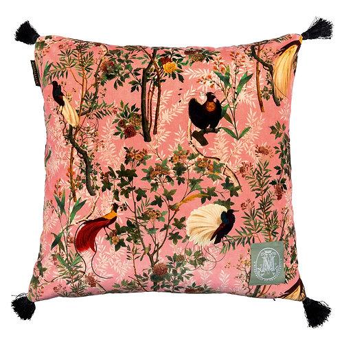Mind the Gap Royal Garden Pink Cushion