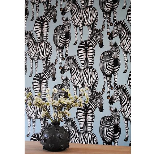 Charlotte Jade Zebras Wallpaper