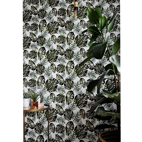 Charlotte Jade Hybrid Flora Wallpaper