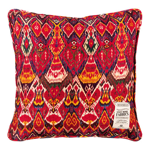 Mind the Gap Uzbek Ikat Cushion