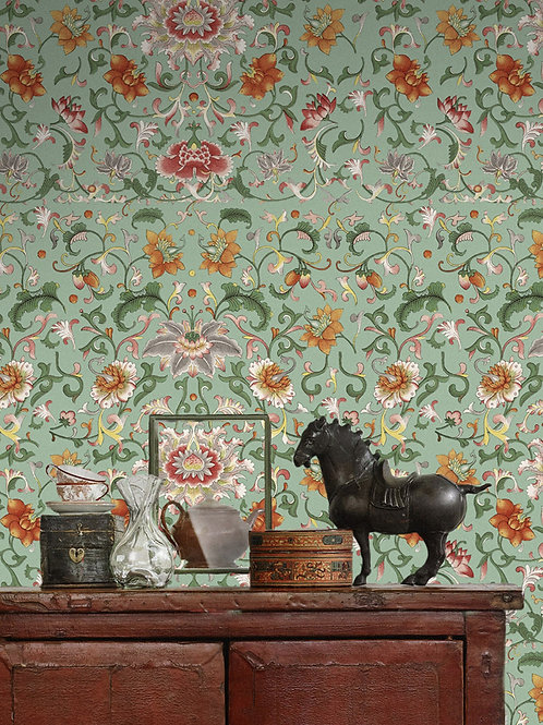 Mind the Gap - Chinese Floral Wallpaper