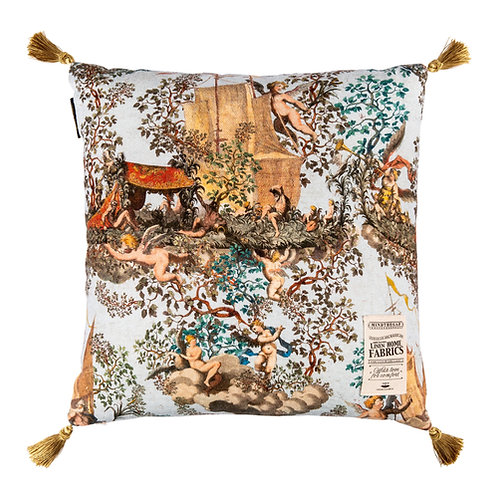 Mind the Gap Journey to Eden Linen Cushion