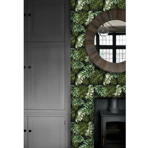 Charlotte Jade Hybrid Flora Dark Wallpaper