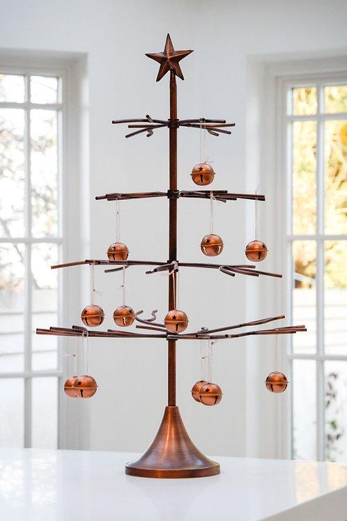 Metal Bauble Tree