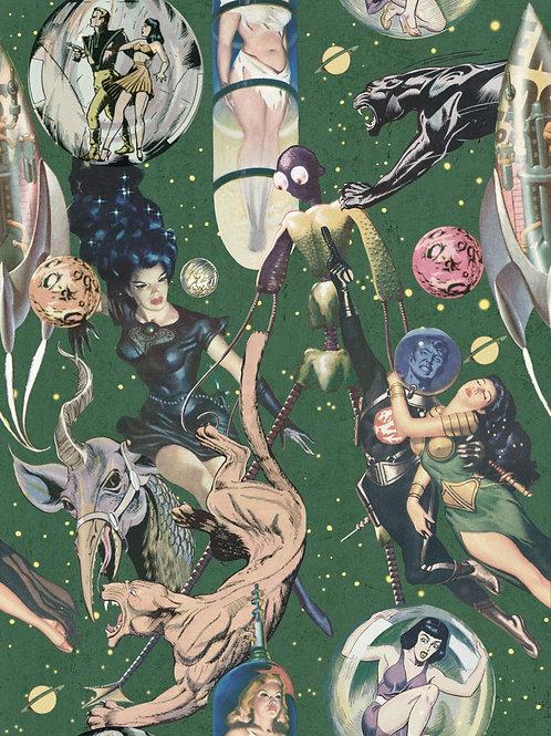 Mind the Gap - Sci Fi Comics Wallpaper