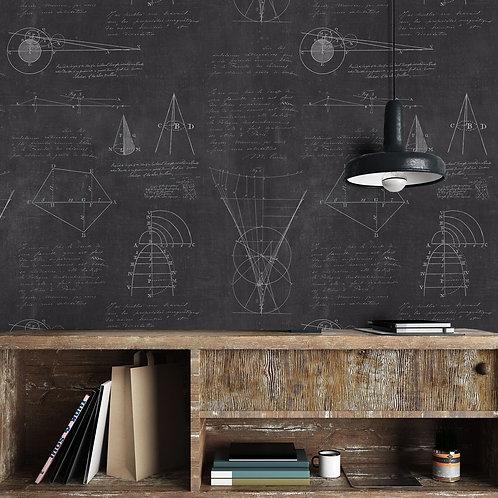 Mind the Gap - Newton Geometry Wallpaper