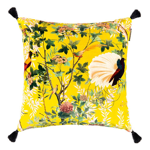 Mind the Gap Royal Garden Velvet Cushion