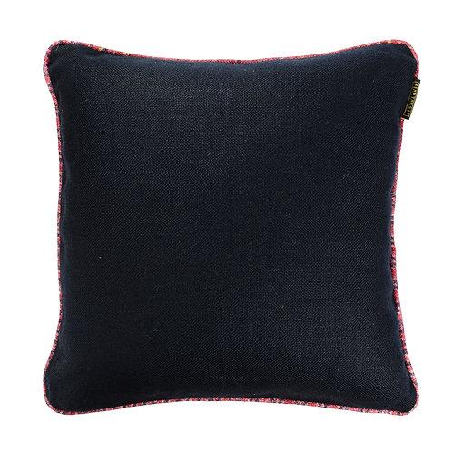 Mind the Gap Anthracite Linen Cushion