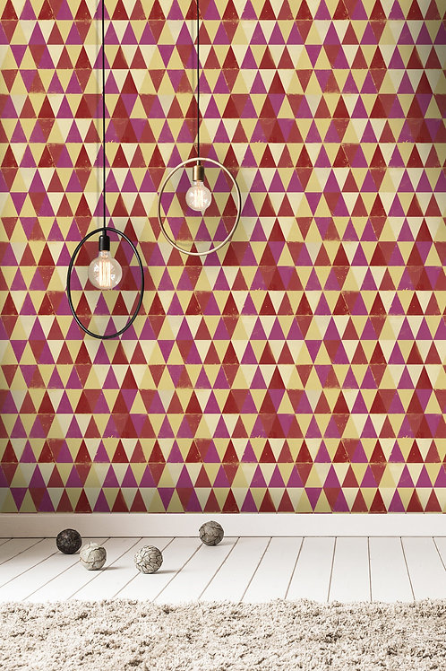 Mind the Gap - Circus Pattern Wallpaper