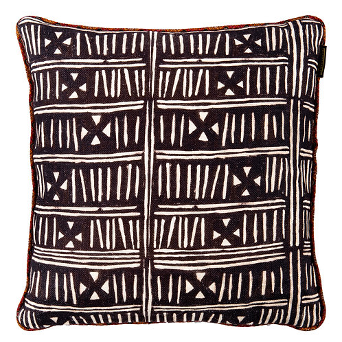 Mind the Gap Bogolanfini Cushion